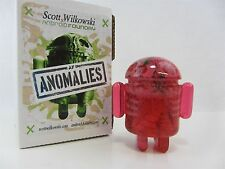 Scott Wilkowski Infected Android Anomalies resin Pink w/ green paint splatter