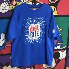 VTG 97 Diet Rite Soda Promo T-shirt XL