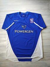 Ipswich Town jersey large 2003 2005 home shirt Punch football soccer blue