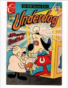 UNDERDOG # 8 CHARLTON COMICS September 1971 CARTOON CHARACTER FRANK JOHNSON ART