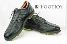 FOOTJOY Dryjoys Optiflex Tour ECL Mens 11.5M Golf Shoes Black/Black Croc  GF57