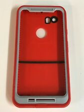 Lifeproof Fre Waterproof Case Cover For Google Pixel 2 XL Fire Run Red
