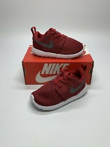 New Nike Roshe One Red Toddler Shoes 749430-608