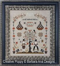 Barbara Ana Designs Counted X-stitch Chart - The Rampant Cats Sampler