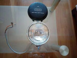 Vintage chrome NOS LUCAS fog lamp light MG triumph jaguar mini no bosch hella
