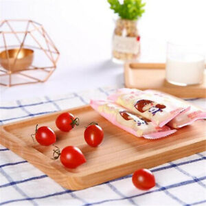 Kitchen Platter  Wooden Serving Tray Serving Fruit Tea Breakfast Tray LP