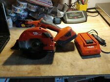 Hilti Scm 18 A Metal Cutting Cordless Saw Tool With Battery And A Charger
