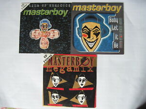 masterboy 3 cd single megamix land of dreaming baby let it be (promo) eurodance