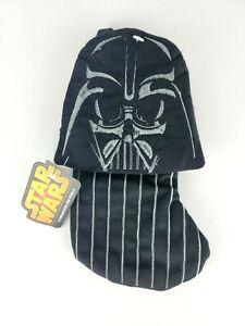 "NEW MINI 7"" Hanging Christmas Stocking Disney Star Wars Darth Vader NWT"
