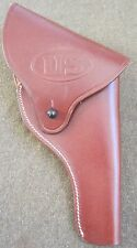 WWII US S&W VICTORY .38 PISTOL BELT HOLSTER-BROWN
