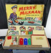 1950s Vintage Merry Milkman Hasbro Game In Original Box !!