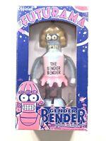 Futurama Rocket USA Wind Up Tin Gender Bender. Shipping Included