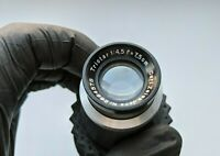 Vintage Carl Zeiss Jena Triotar 4.5 75mm lens adapted to Sony E-mount