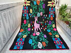 Vintage Berber Rug Moroccan Handmade Rug Beni Ourain Wool Carpet 5.83 x 8.66 ft