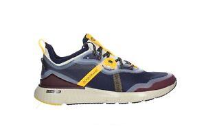 Cole Haan Mens Zerogrand Overtake Peacoat/Tawny Port/Pelican Running Shoes Size