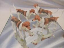 "LOT of 4 Resin German Short Hair English Setter Pointer Dog NEW 4"" Figurines"
