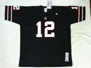 VINTAGE USFL JIM KELLY #12 Houston Gamblers Jersey  NWT by Majestic RARE !
