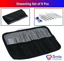 Complete Dissecting Kit - dissecting Tools In a Professional Canvas Pouch Smile