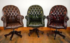 Chesterfield Directors executive office chair brand new