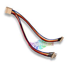 "4 pin PWM Fan Splitter ""Y"" Cable Female 4 pin PWM to 2 Male 4 pin 6"" Long"