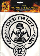 "The Hunger Games Large District 12 Seal Vinyl Decal 8.75"" x 7.5"" *New"