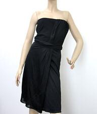 $2200 NEW Authentic Gucci Black Strapless Dress, L, #271399