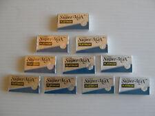 50 SuperMax Platinum Double Edge Razor Blades