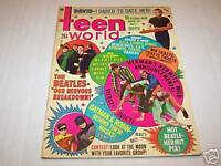 12/1966 TEEN WORLD magazine BEATLES etc