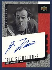 2000-01 UPPER DECK LEGENDS Epic Signatures GUY LAFLEUR HABS!!!