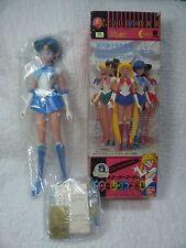 "Vintage 1993 Pretty Soldier Sailor Moon Mercury Excellent Doll 19"" Bandai Jp NIB"