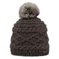 Cappelli da donna berretti acrilici marrone