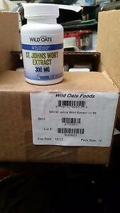 St. Johns Wort 300MG - 120 Capsules ( 2 bottles of 60 each ) Exp 12/17