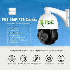Poe 5Mp Ptz Ip Camera H.265 Outdoor 30X Dome Camera Hikvision Dahua Compatiable