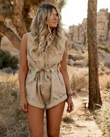 BNWT Billabong x Elle Ferguson Blogger Dune Playsuit Size 10 (Medium) RRP $150