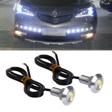 1 Pair DC 12V 23mm LED Eagle Eye Daytime Running DRL Light Car Auto Lamp White