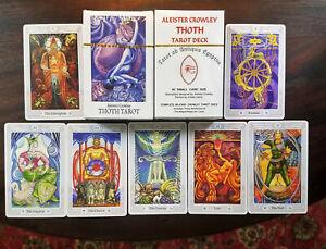 NEW Aleister Crowley Thoth Tarot Card Deck, Lady Frieda Harris, Restored, RETRO