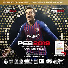PES 2019 Option File PS4 v19.04 (Pro Evolution Soccer 2019) - Instant Delivery!