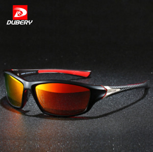 DUBERY Men Polarized Sport Sunglasses Outdoor Driving Riding Fashion Goggles