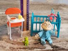 1997 Rugrats Tommy's World Playset ~ Baby Crib High Chair ~ Nickelodeon