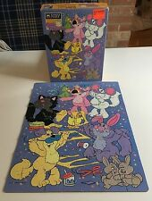 Purr-Tenders Complete Vintage Cartoon Puzzle In Box 1987 Hallmark Cats Kittens