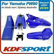 KDF PW80 PLASTIC FENDER COVER BLUE SEAT TANK FOR YAMAHA PW80 AFTERMARKET PARTS