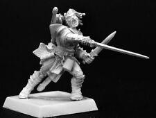 VALEROS ICONIC FIGHTER - PATHFINDER REAPER miniature jdr rpg d&d warrior 60001