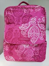 Vera Bradley Backpack Pink Stamped Paisley Small 22373-h97