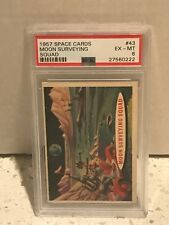 1957 Topps SPACE CARDS #43 - MOON SURVEYING SQUAD - PSA 6 EX-MT - T.C.G.