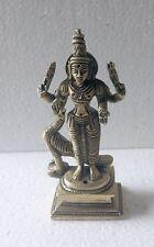 """5"""" Brass Statue Karthik Kartik Swami Murugan, 366 Grams"""