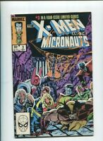 THE X-Men And The Micronauts #3 VF Marvel Comics 1984