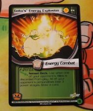 Dragon Ball Z Score CCG Goku's Energy Explosion P4 Babidi Saga PROMO DBZ TCG
