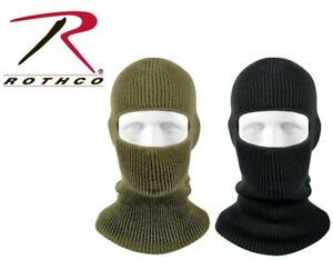 Military Winter 1 Hole Ski Mask Airsoft Cold Weather Warm Acrylic Face Mask 5501