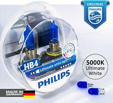 PHILIPS HB4 (9006) Diamond Vision 5000K White Headlight Bulbs Germany 12V 51W