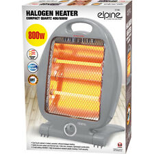 HALOGEN ELECTRIC HEATER 400W 800W SMALL PORTABLE INSTANT HEAT FREE STANDING NEW